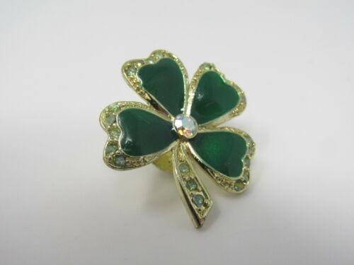 Shamrock Clover Pin St. Patrick