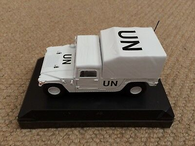 die Cast model - United Nations soft top - Hummer- New but scruffy plastic box