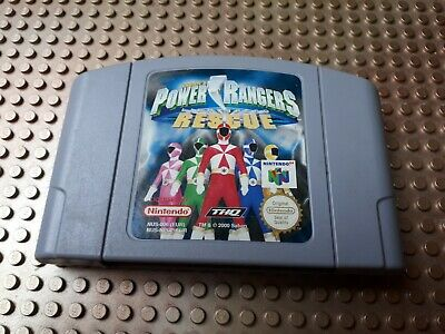 Nintendo 64 Spiel Modul Power Rangers Lightspeed Rescue EUR N64 52