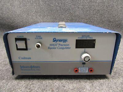 Codman Johnson Johnson 80-1187 Synergy Malis Precision Bipolar Coagulator