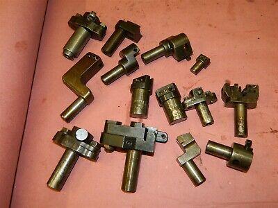 Brown Sharpe Boyar Schultz Hardinge Turret Tooling 14 Pieces Lot A