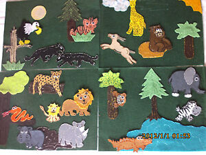 FELT-BOARD-STORY-RHYME-TEACHER-RESOURCE-RUMBLE-IN-THE-JUNGLE-JUNGLE-ANIMALS