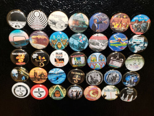 35 Blue Oyster Cult Magnet 1 inch Fridge Magnets Albums LP Vinyl  Discography