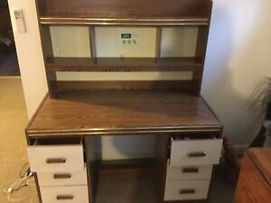 Lovely desk and hutch