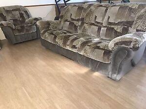 Free sofa and loveseat