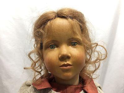 Regina Sandreuter Wood Wooden Doll 1993