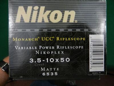 Nikon Monarch UCC 3.5-10 Rifle Scope