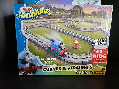 THOMAS & FRIENDS ADVENTURES 34 Piece Curves & Straight Track Pack FISHER-PRICE