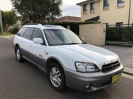 2001 Subaru Outback AWD Wagon (Double Sunroof) Auto 6months Rego