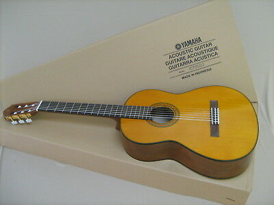 Used, GUITAR ACOUSTIC YAMAHA C70 musical instruments NEW C 70 FREE CASE & TUNER CGT1 2 for sale  Shipping to India