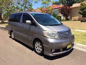 Toyota Auto Alphard premium leather edition 2.4 L.  8 Seaters Beecroft Hornsby Area Preview