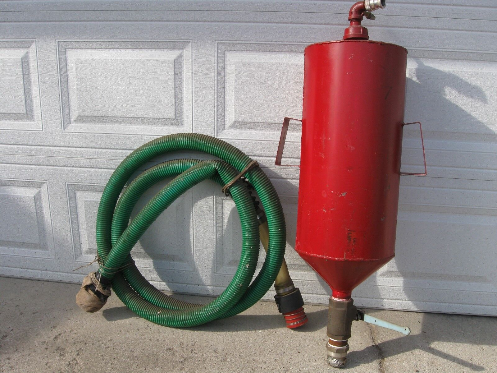 Vintage Quick Fill Gas Can Nascar Motorcycle Racing W