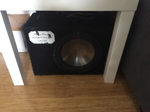 10 inch clarion and box