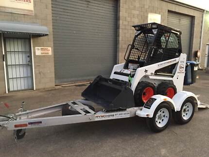 BOBCAT HIRE. SKIDSTEER HIRE WITH TRAILER. DRY HIRE Everton Hills Brisbane North West Preview