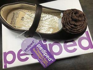 (BNIB) pediped Girl shoes size 12-12.5