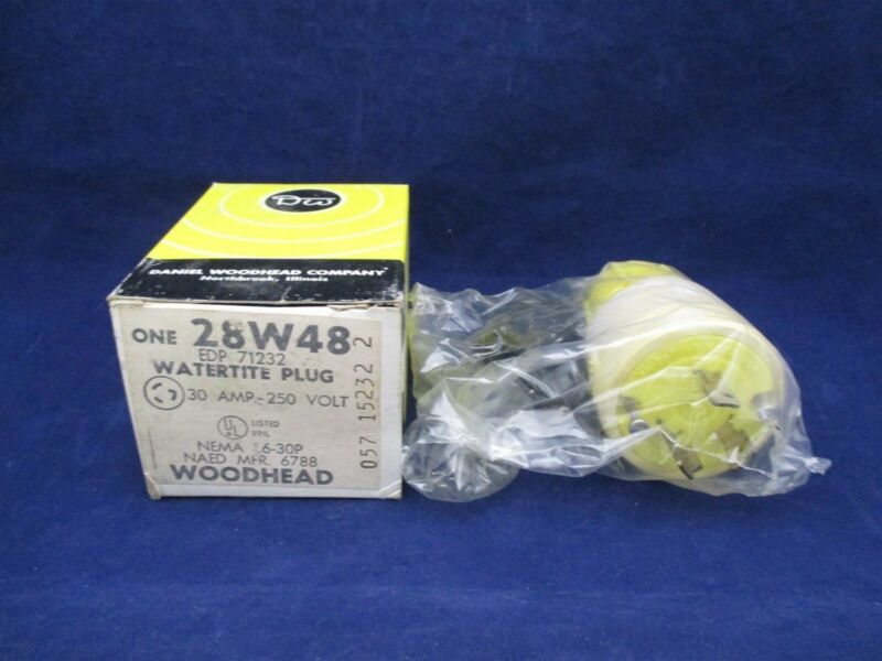 Woodhead 28W48 Watertite Plug new