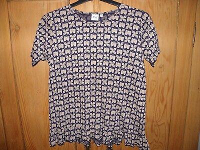 Karen Walker short sleeve top, size 2 (M)