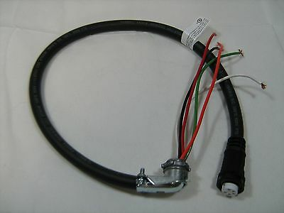 Waste Oil Heater Parts - Lanair Burner Quick Disconnect Cord Assembly 8362