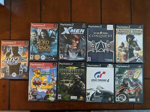 PlayStation 2 Games - 9 Game Lot