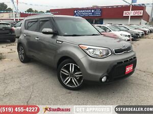 2014 Kia Soul SX | LEATHER | CAM | ONE OWNER