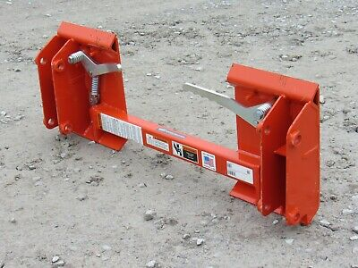 Kubota Tractor La524 And La525 Loader To Skid Steer Quick Attach Adapter 835160