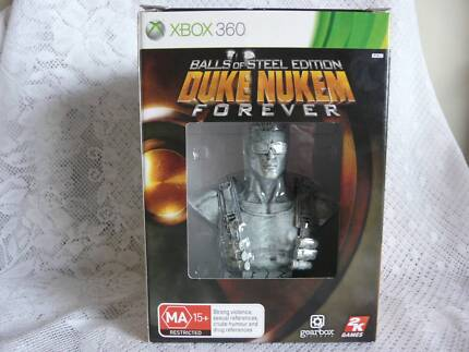 Duke Nukem Forever - Balls Of Steel Edition Xbox 360 NEW IN BOX Booval Ipswich City Preview