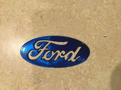 Plasma cut Kandy Ford oval  small magnet version 2 Metal Man Cave Wall Decor