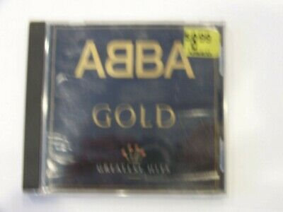 ABBA GOLD GREATEST HITS     [ CD,1992, Polygram Records, Free Shipping ]