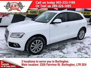 2015 Audi Q5 2.0T Progressive, Leather, Pan Sunroof, AWD