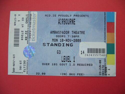 AIRBOURNE. 2008 DUBLIN
