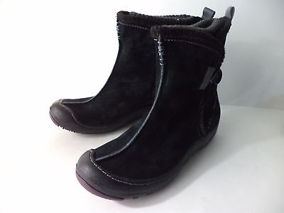 Kyпить PRIVO BLACK SUEDE WATERPROOF WINTER ANKLE BOOT WOMENS SZ 6M на еВаy.соm