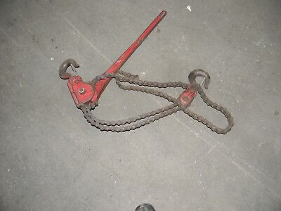 Coffing Hoist 1 12 To 3 Ton Malleable Iron Roller Chain Ratch Tool
