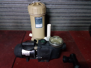 Reconditioned hurlcon pump and cartridge  filter for spa or pool Moorabbin Kingston Area Preview