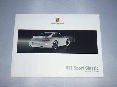 originales Porsche Buch / Broschüre  911 Sport Classic (Porsche Exclusive)