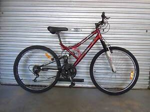 bike Womens mountain  southern star  dual suspension  26 in