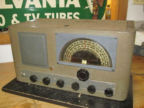 Vintage RME 84 Ham Amateur  Communications Tube Receiver