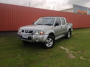 2002 Nissan D22 ST-R 4x4 Navara Dual cab ute Campbellfield Hume Area Preview