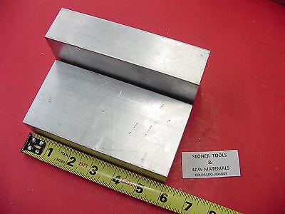 2 Pieces 1-12 X 3 Aluminum 6061 Flat Bar 6 Long Solid T6511 Mill Stock 1.50