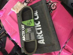 Arctic cat belt 0627-032 and mud flap