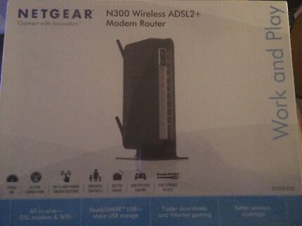 Netgear N300 wireless Modem Router Meadowbank Ryde Area Preview
