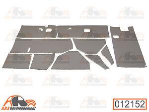 habillage planche de bord neuf gris pour citroen 2cv ancienne 12152 ebay. Black Bedroom Furniture Sets. Home Design Ideas