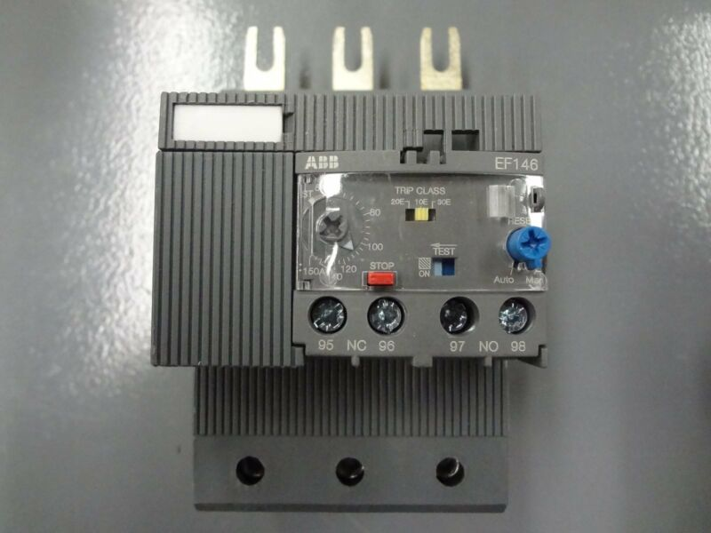 ABB EF146-150 Electronic Overload 54-150A