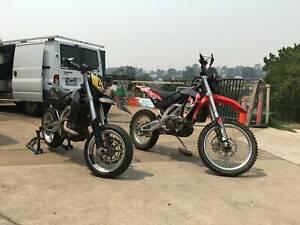 2006 Aprilia RXV550 and 2006 SXV550