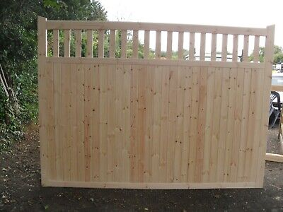 driveway gates 6 ft h x 17 ft wide village gates