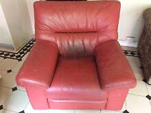 Leather armchair Croydon Burwood Area Preview