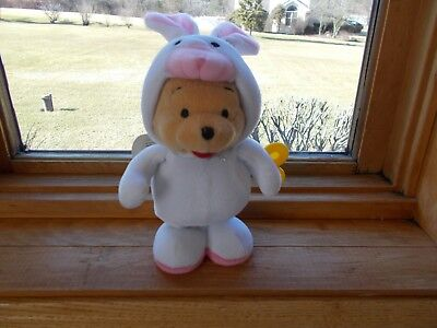 Disney Winnie the Pooh Wearing Easter Costume Happy Hopper Wind-Up Toy NEW!!!](Wind Up Toy Costume)