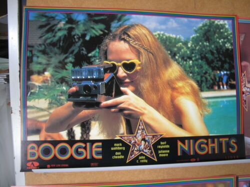 798 BOOGIE NIGHTS JULIANNE MOORE Mark Wahlberg BURT REYNOLDS