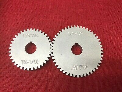 Logan Lathe Metric Transposing Gear Set 6061 Aluminum