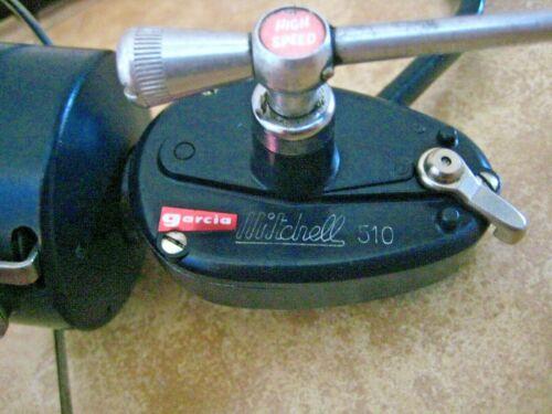 Vintage Garcia-Mitchell High Speed 510 RH Fishing Reel
