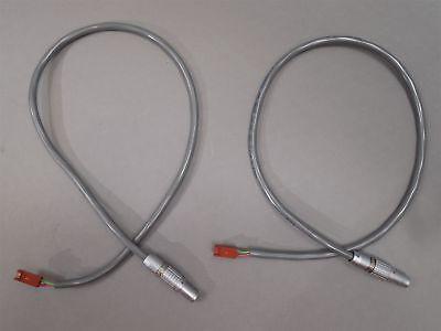 Lot Of 2 Cable Assy 120537 16in Wlemo Fgg.0b.304 Molex 2695-2 Mxn-3
